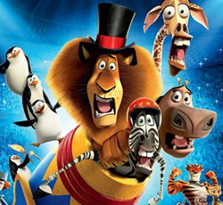 Madagascar 3: Europe's Most Wanted 3D and 2D, Movie