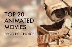 Top 20 Animated Movies, as voted by you