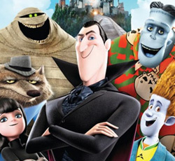 Hotel Transylvania 3D and 2D, Movie
