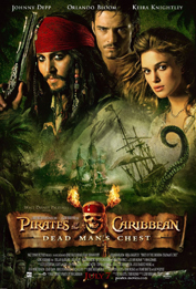 9. Pirates of the Caribbean: Dead Man&#039;s Chest, Movie