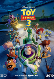 10. Toy Story 3, Movie